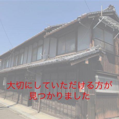 三津にのこるかすり問屋の旧家