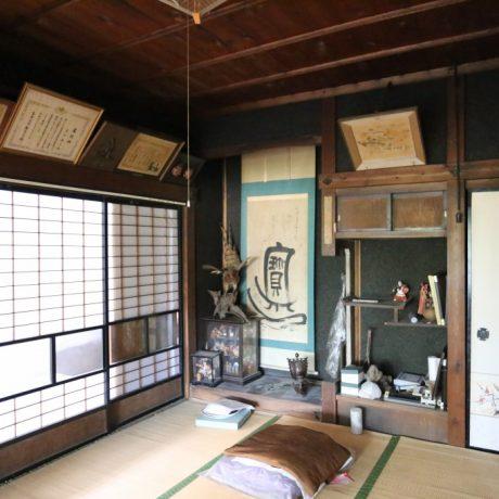 弘前大浦城跡地の古民家