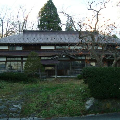 秋田県男鹿市に建つ状態のいい古民家
