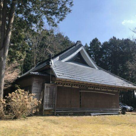 富士山を望む江戸の古民家